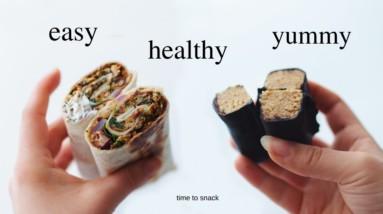 Addictive Vegan Snack Ideas! (healthy, easy)