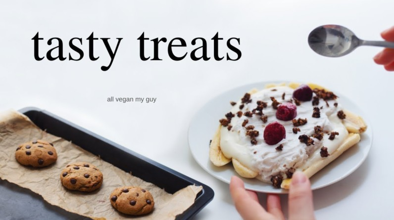 Healthy Treats to make for yourself (vegan, delicious)