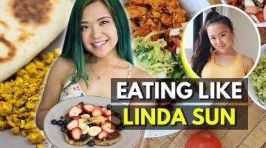 I Ate Like LINDA SUN For a Day (but VEGAN)