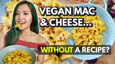 I Made Mac & Cheese w/ Cauliflower WITHOUT a Recipe! (Cook With Me)
