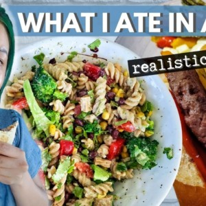 Realistic & Easy Vegan Meals (WHAT I EAT IN A DAY)