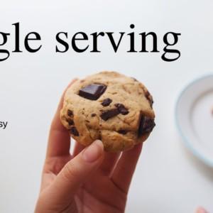 Single Serving Desserts cause you deserve it (vegan)