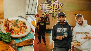 VEGAN READY STEADY COOK CHALLENGE | episode 2 FEATURING SPECIAL GUEST PERFORMANCE
