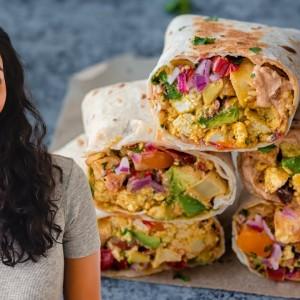 How to make incredible vegan breakfast burritos at home