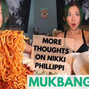 SPICY FIRE NOODLES + FRIED RICE ROLLS / Munching Mondays Ep.90