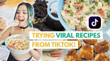 I Tried Viral Recipes From TIKTOK (VEGAN)... Do They Work?