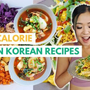 Low Calorie Korean-Inspired Vegan Recipes For Weight Loss / My Favourite Sustainable Activewear