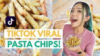 TikTok Viral PASTA CHIPS... How Do They Taste?!