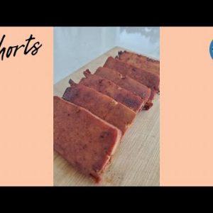 Vegan Spam / DIY Smoked Tofu Recipe #shorts