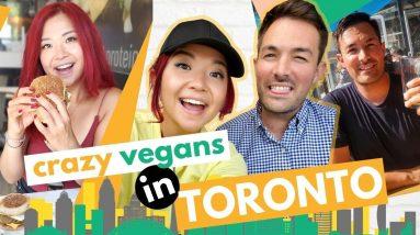 What We Ate in TORONTO As VEGANS! (Toronto Vegan Food Tour & Travel Vlog, Part 1)